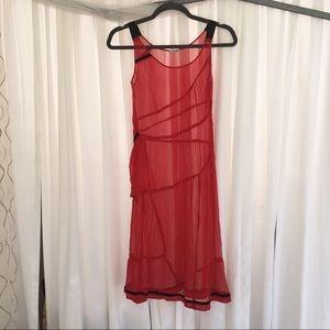 Vintage Red Miu Miu Dress